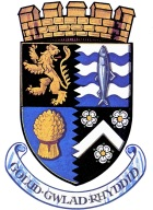 Ceredigion Crest (colour)